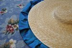 Dressing Up A Straw Hat