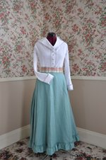 Finished Victorian Naturalist Blouse and Skirt